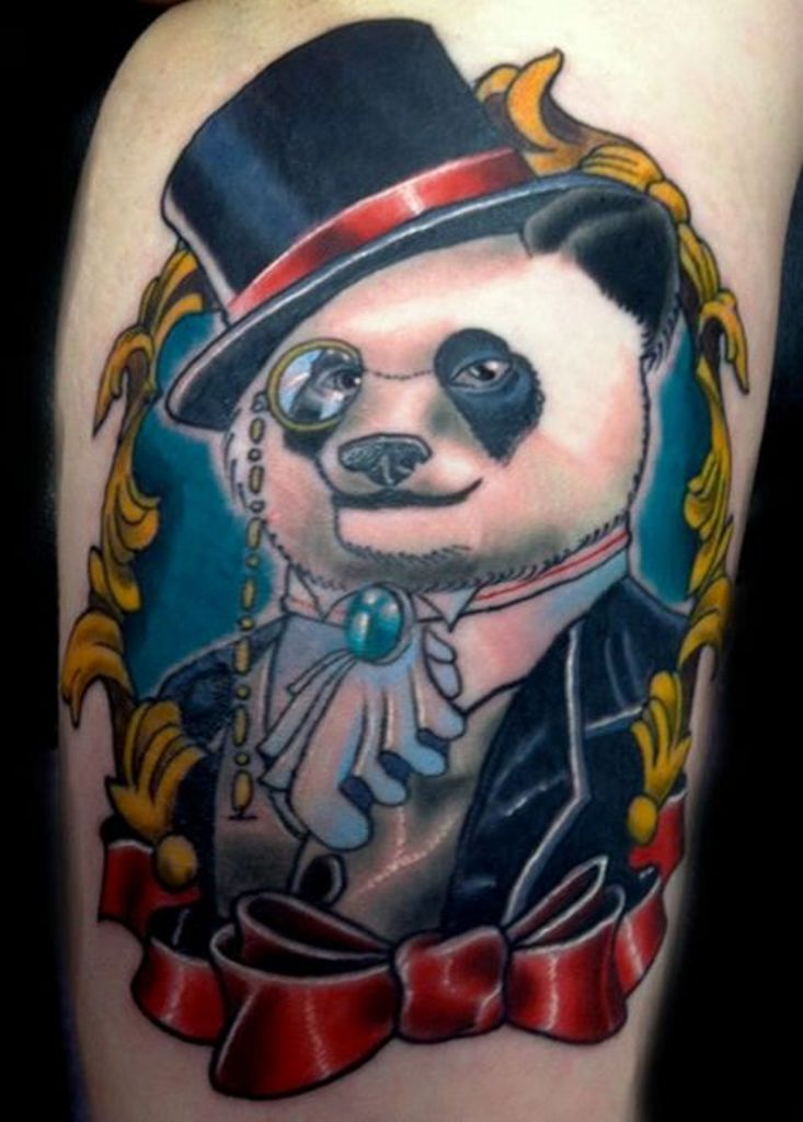 51 Cute Panda Shoulder Tattoos Design Ideas And Designs