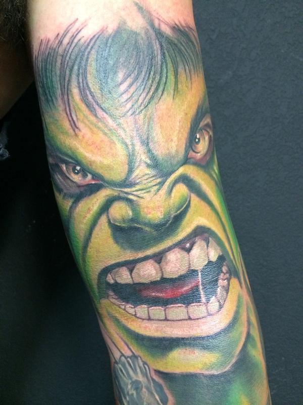 Hulk Smash By Jon Highland Tattoos Ideas And Designs