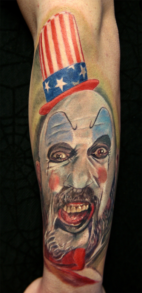 Captain Spaulding Tattoos Ideas And Designs