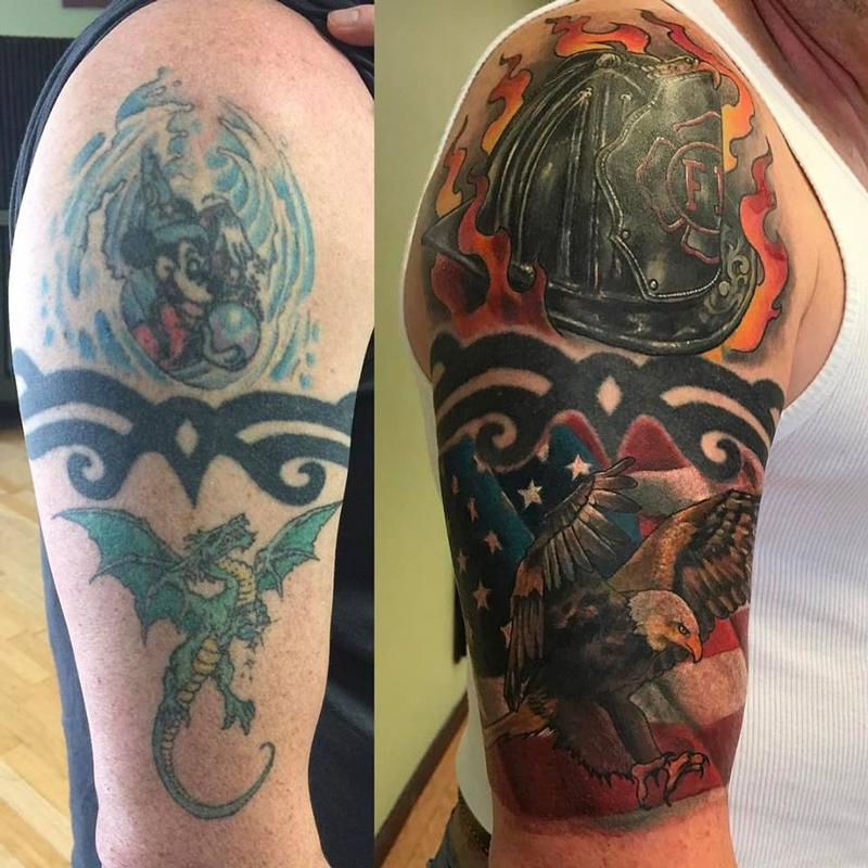 Altered Images Tattoos Chad Pelland Cover Up Magic Ideas And Designs