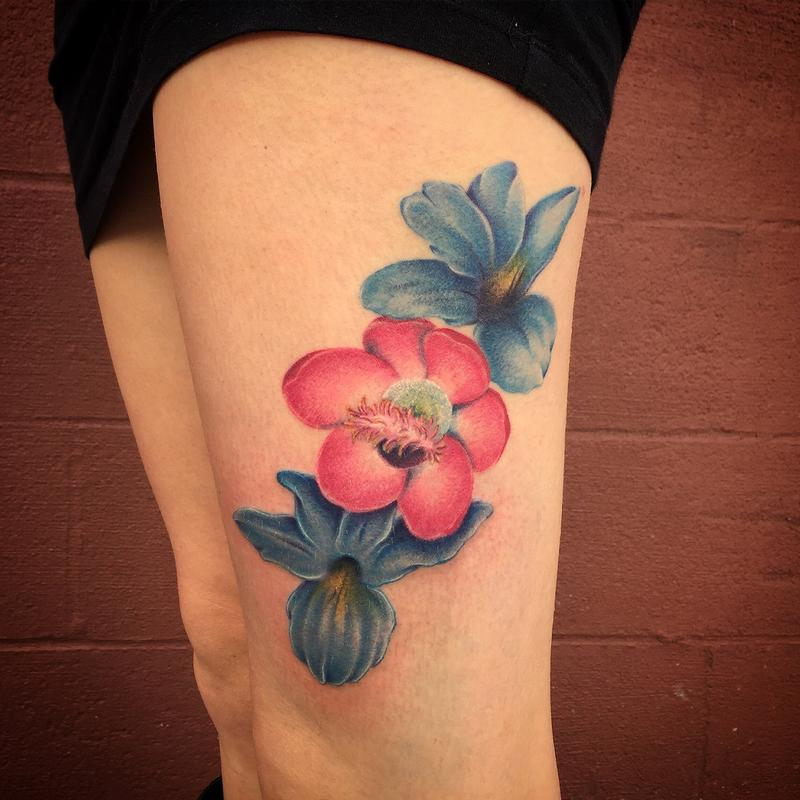 11 Very Appealing African Flower Tattoo Designs Ideas And Designs