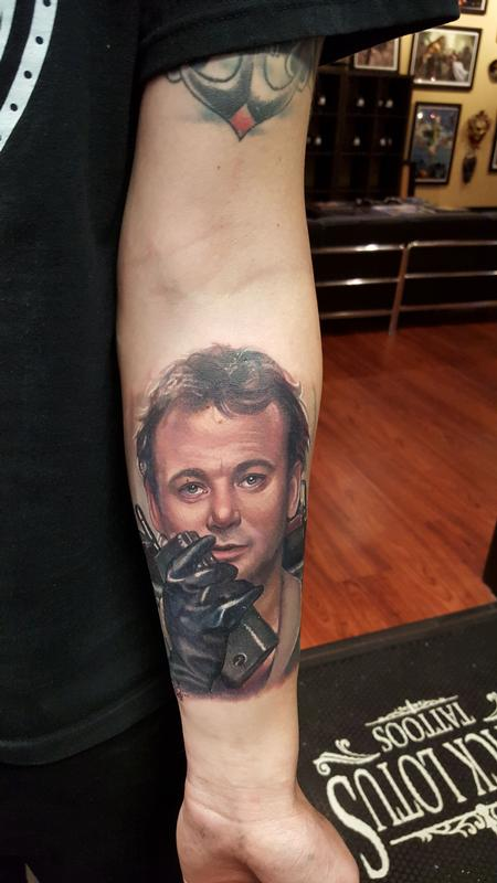 Bill Murray By Halo Tattoos Ideas And Designs