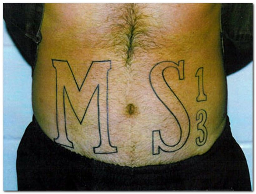 Awesome Ms 13 Tattoos Ideas And Designs
