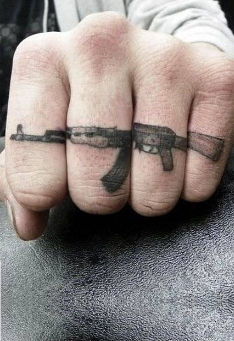 31 Gun Tattoo Designs Ideas Design Trends Ideas And Designs