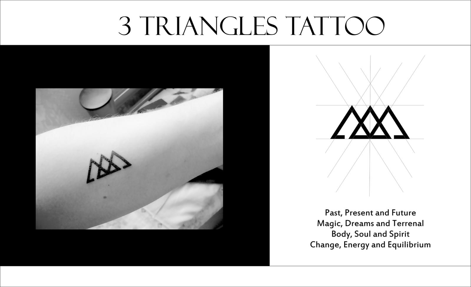 Triangles Tattoo By Amadis33 On Deviantart Ideas And Designs