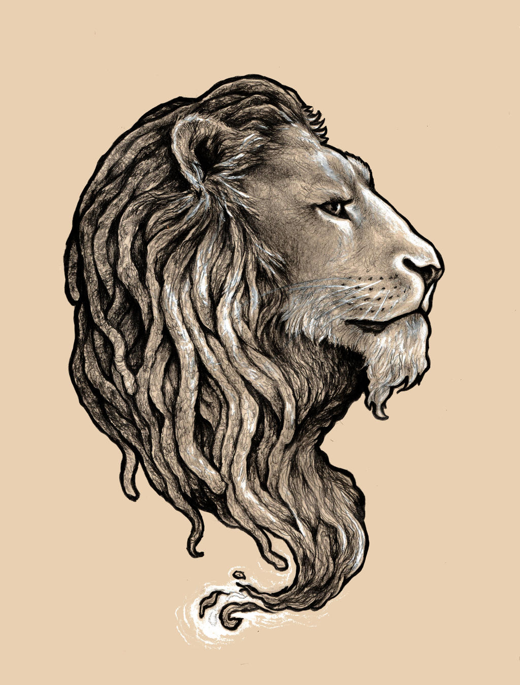 Rastah Lion By Cantervania On Deviantart Ideas And Designs