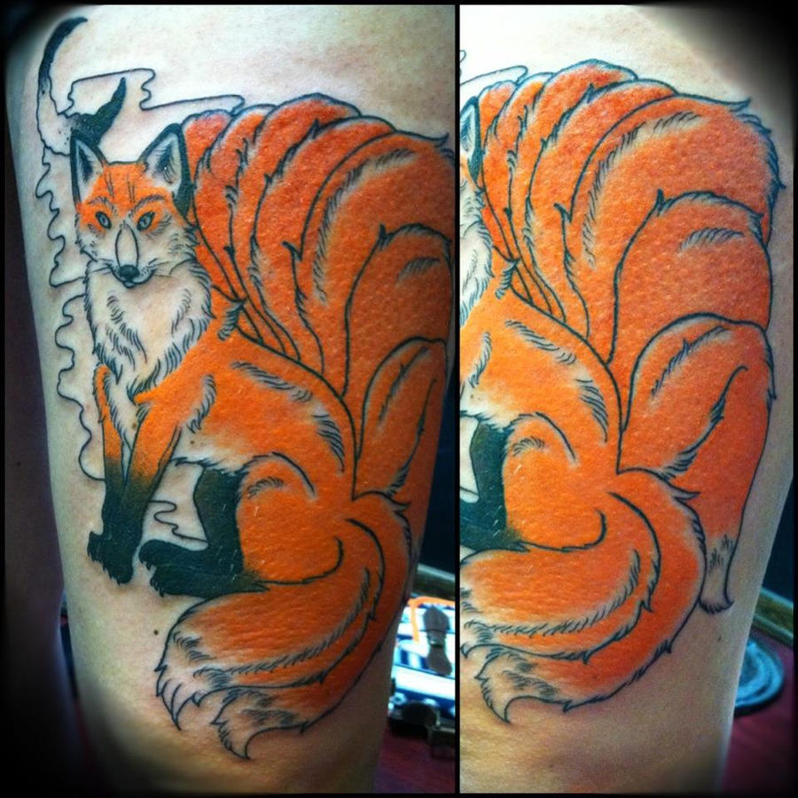 Naruto Nine Tailed Fox Tattoo Ideas And Designs