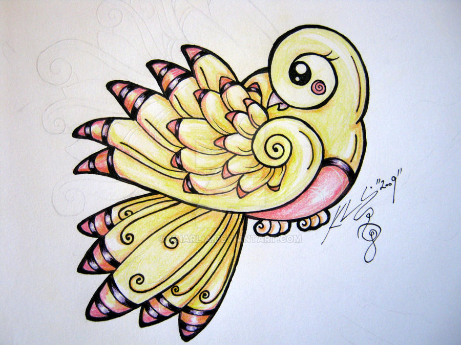 Yellow Canary Tattoo By Kharlia On Deviantart Ideas And Designs