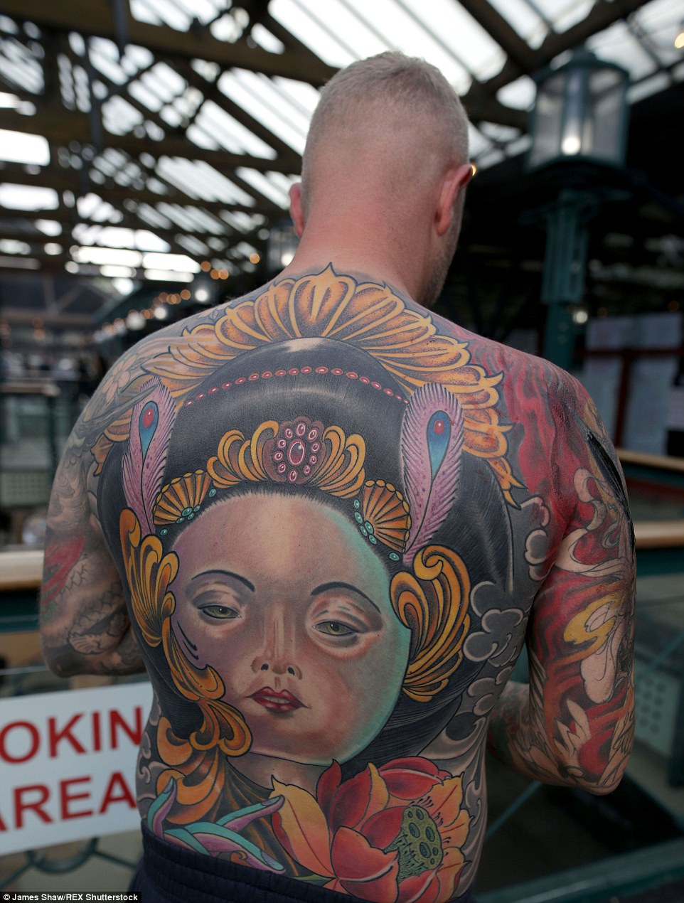 Tattoo Devotees Showcase Beautiful Designs At East London Ideas And Designs