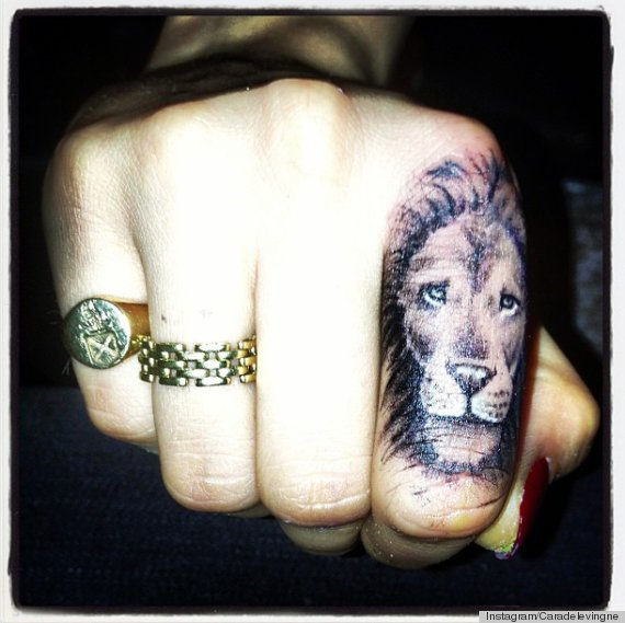 Cara Delevingne S Tattoo Came At Rihanna S Recommendation Ideas And Designs