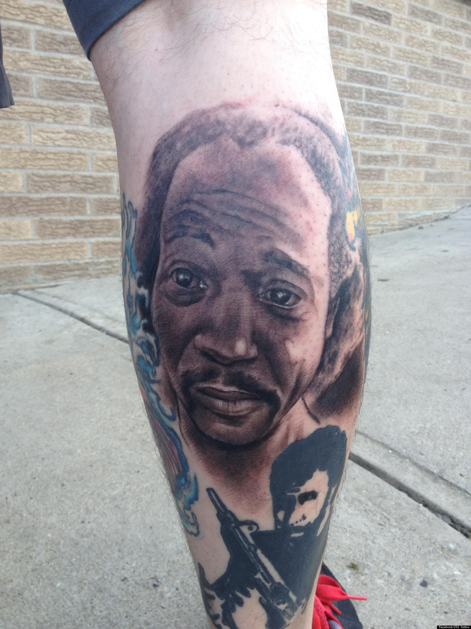 Charles Ramsey Tattoo Action Figure Cleveland Honors Man Ideas And Designs