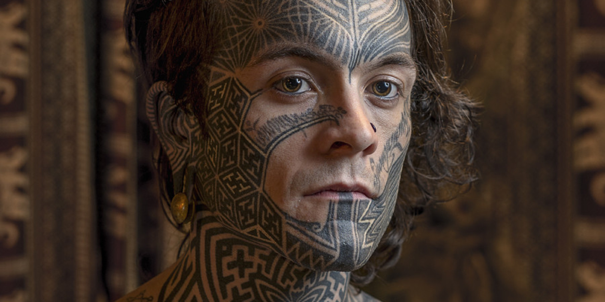 Striking Photos Of Inked Individuals Who Proudly Don Face Ideas And Designs