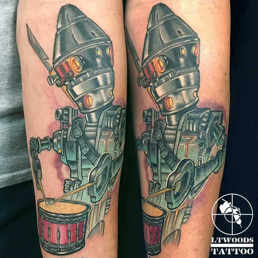 Lt Woods New School Tattoo Artist St Louis Mo Ideas And Designs