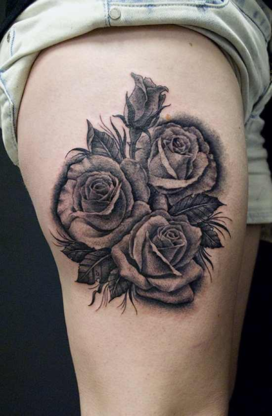 3D Rose Tattoo Design Of Tattoosdesign Of Tattoos Ideas And Designs
