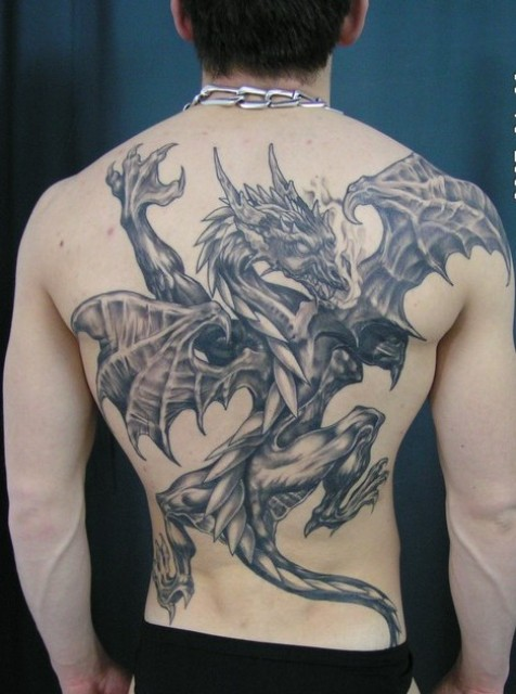 100 S Of Back Dragon Tattoo Design Ideas Pictures Gallery Ideas And Designs