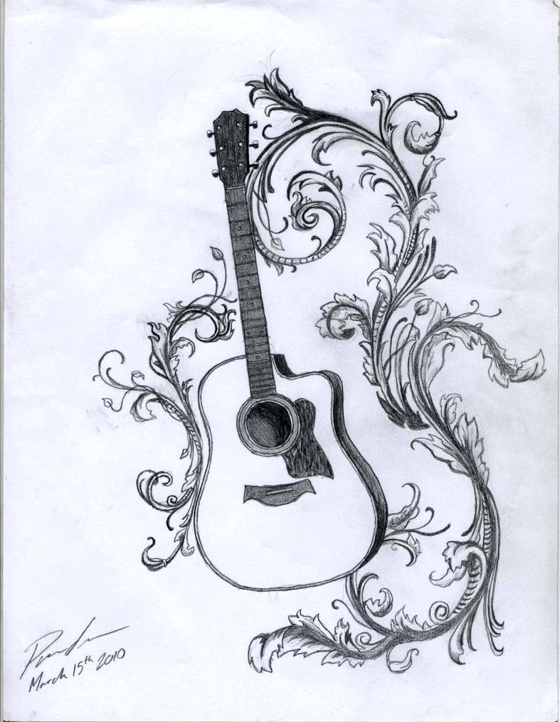 Acoustic With Filigree By Kristhesith On Deviantart Ideas And Designs