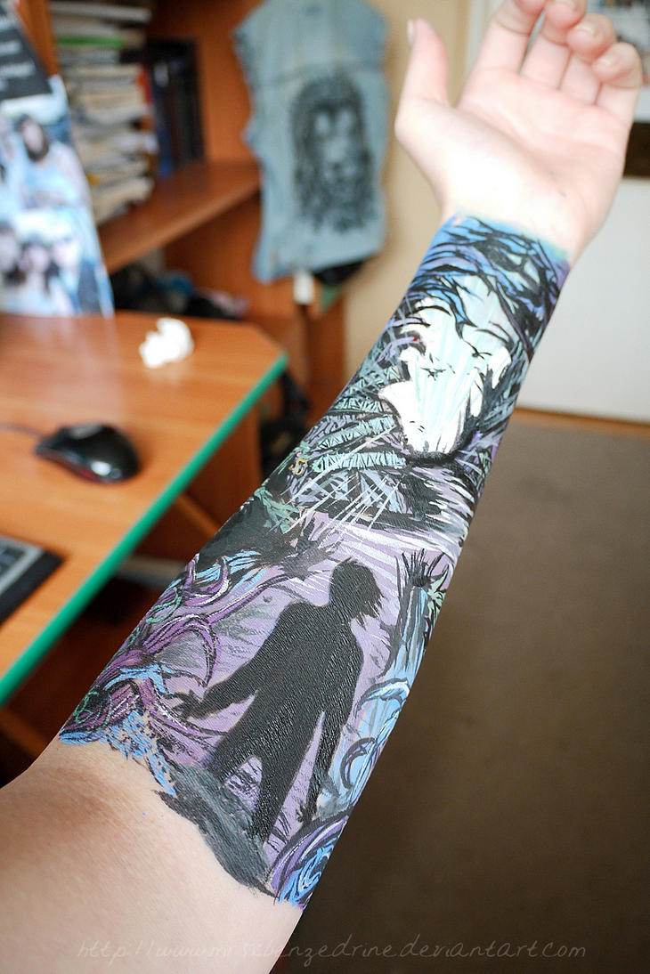Adtr Arm Painting By Mrsxbenzedrine On Deviantart Ideas And Designs