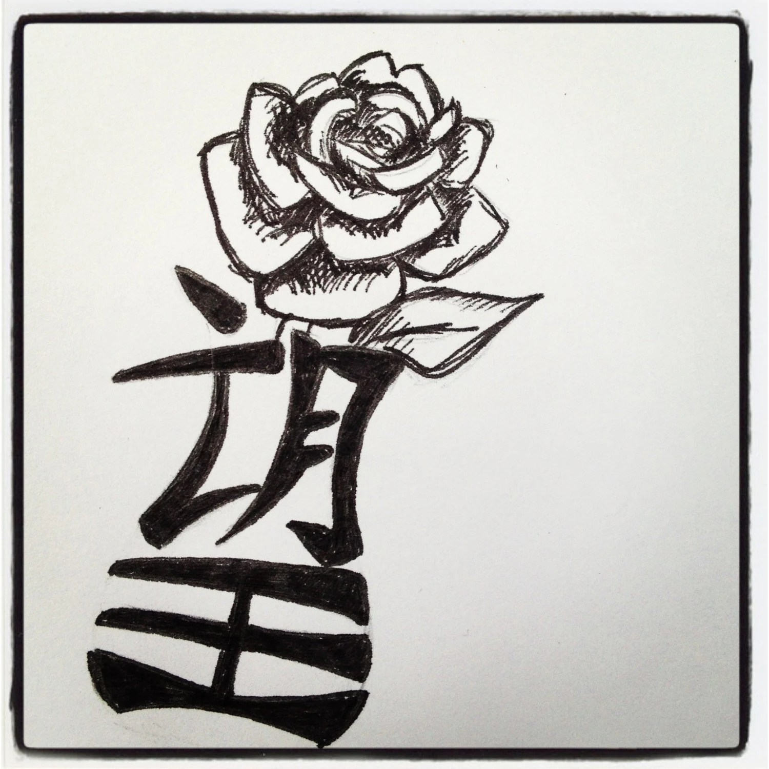 Items Similar To Custom Tattoo Design Small 4X4 Pen And Ideas And Designs