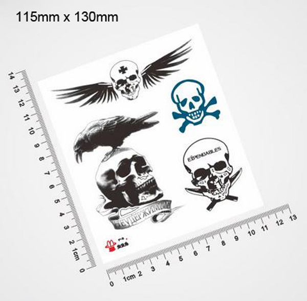 Expendables Waterproof Temporary Tattoo Stickers Body Ideas And Designs