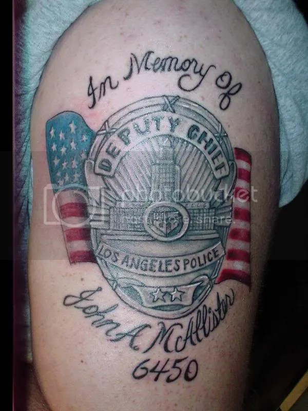 Police Tattoo Designs Ideas And Designs