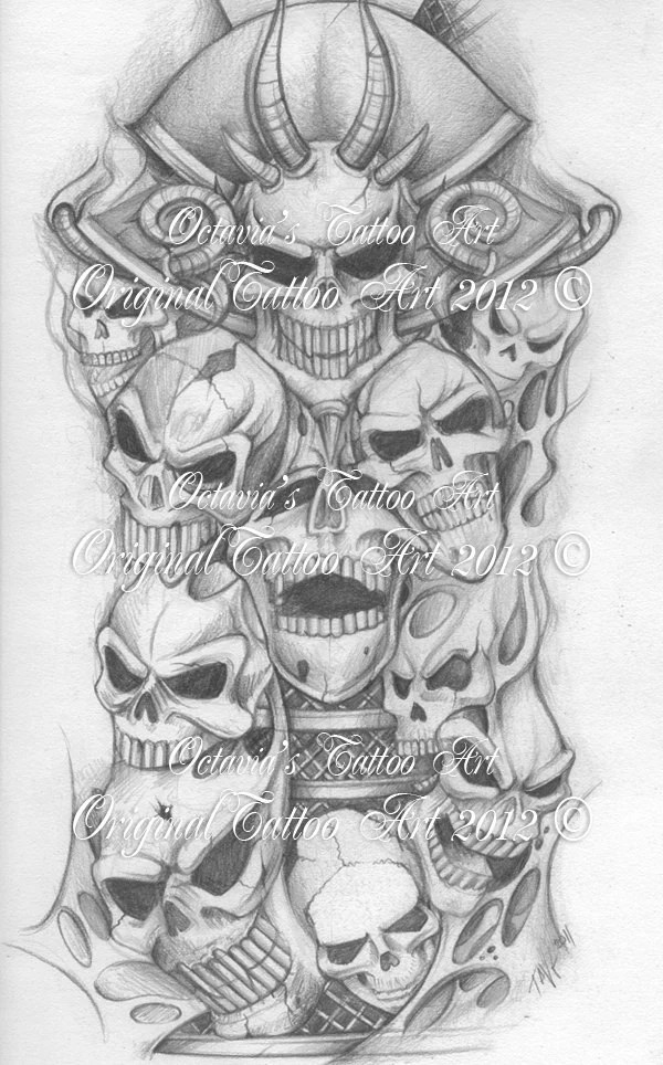 Skull Tattoo Flash Women Fashion And Lifestyles Ideas And Designs