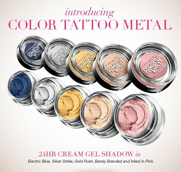 Maybelline Eye Studio Color Tattoo 24 Hr Cream Gel Eye Ideas And Designs