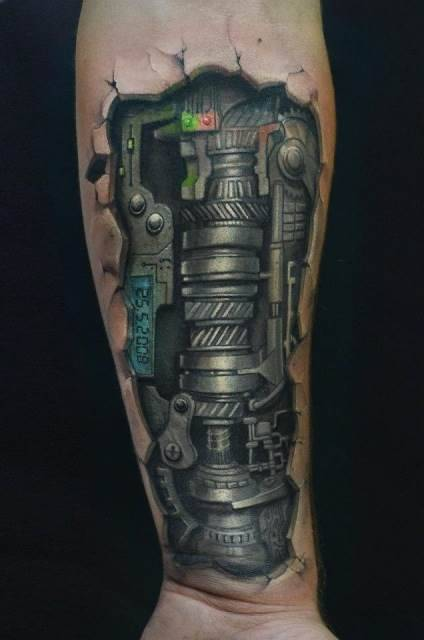 1000 Images About Leg Tattoo On Pinterest Biomechanical Ideas And Designs