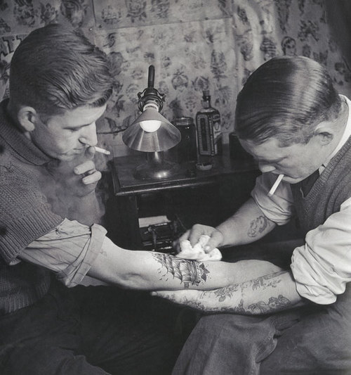 Vintage Tattoo 1920 S Continentalwiseman • Ideas And Designs