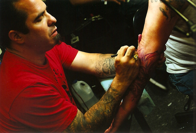 Corey Miller Of Six Feet Under Tattoo Parlor Flickr Ideas And Designs