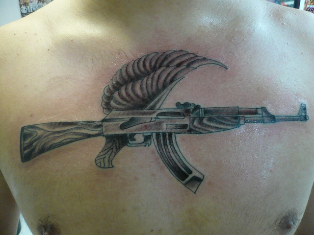 Ak 47 Tattoo Flickr Photo Sharing Ideas And Designs