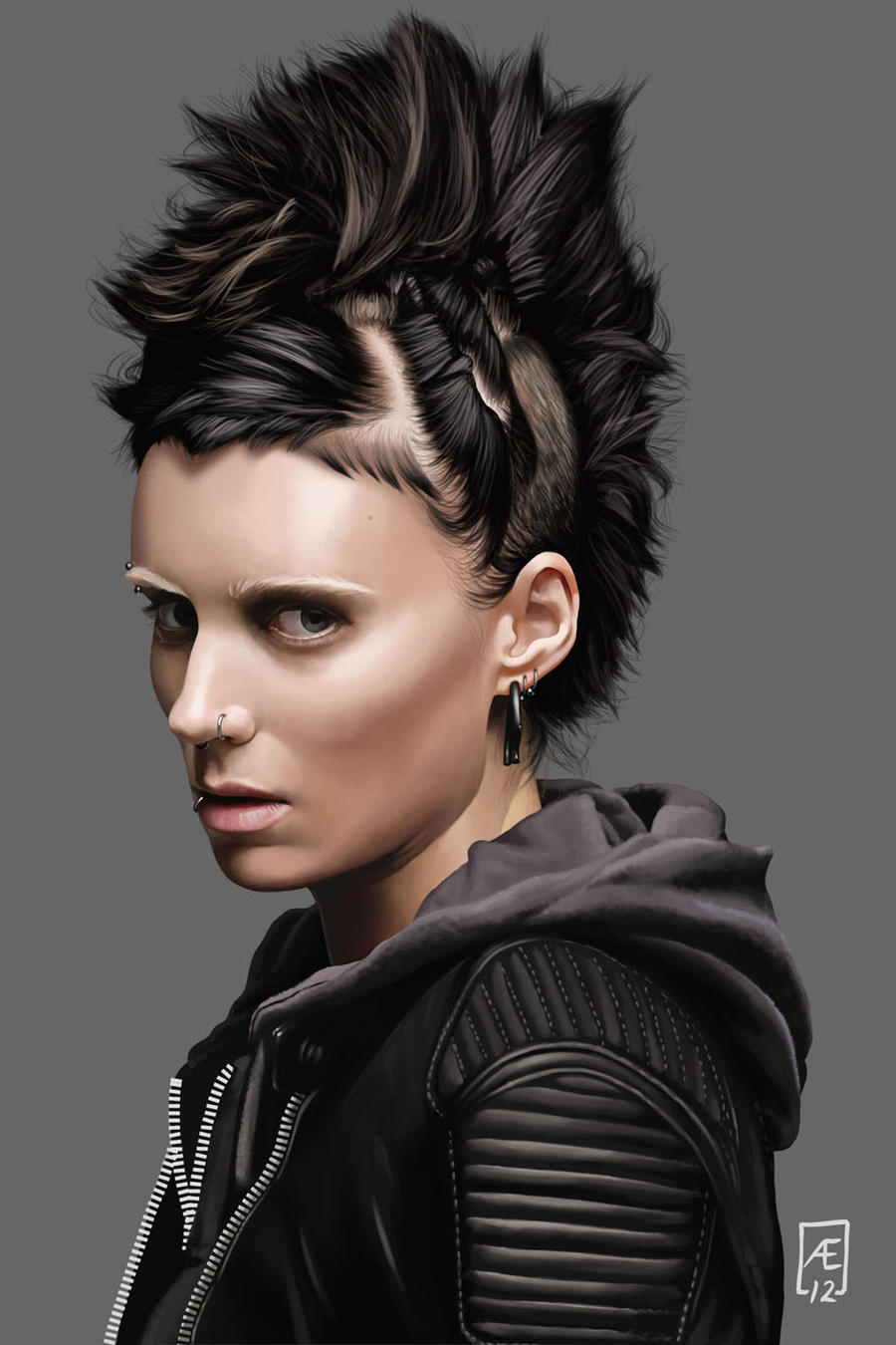 The Girl With The Dragon Tattoo By Aedrian On Deviantart Ideas And Designs