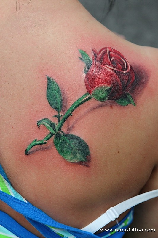 Rose Tattoo By Remistattoo On Deviantart Ideas And Designs