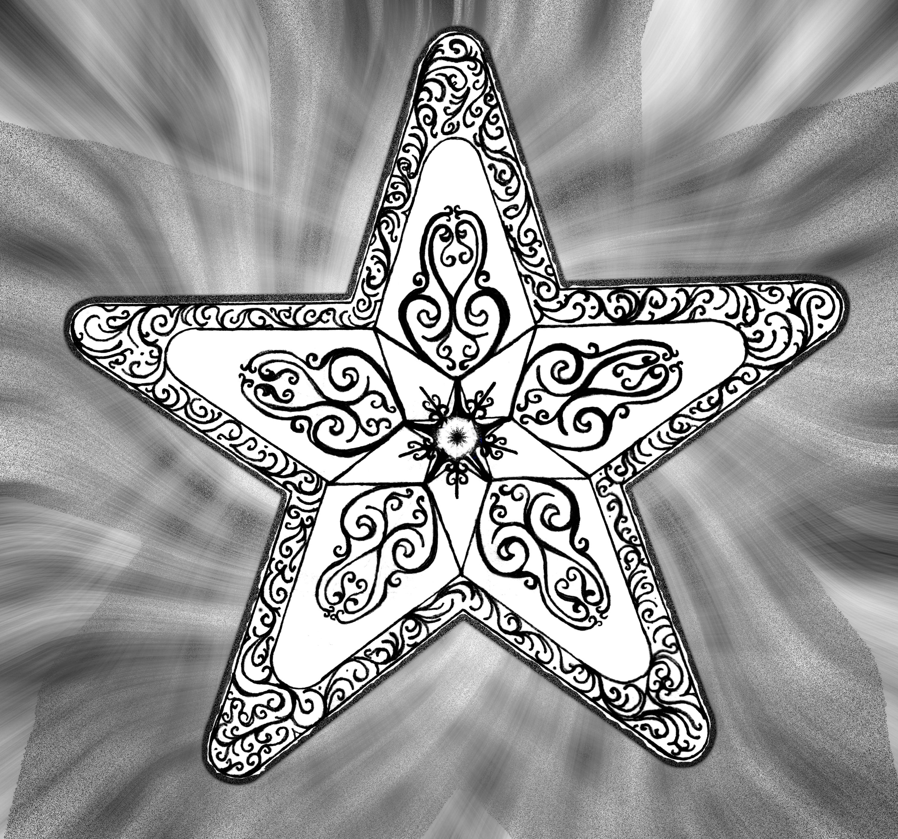 Five Point Urantia Star By Justinnotary On Deviantart Ideas And Designs