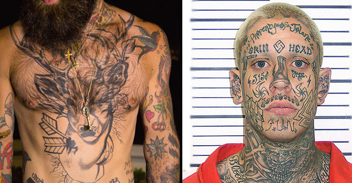 People With Tattoos Have Aggression Issues Apparently Ideas And Designs