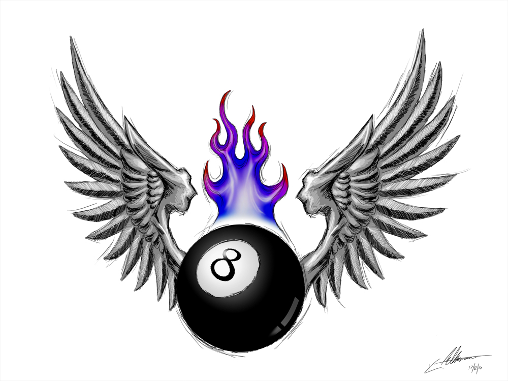 8 Ball Tattoos And Designs Page 38 Ideas And Designs