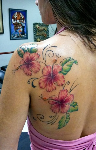 15 Fashionable Hibiscus Tattoo Designs Styles At Life Ideas And Designs