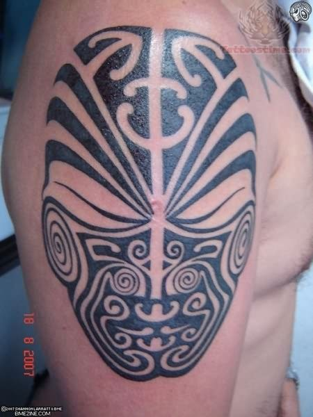 Mask Tattoo Images Designs Ideas And Designs