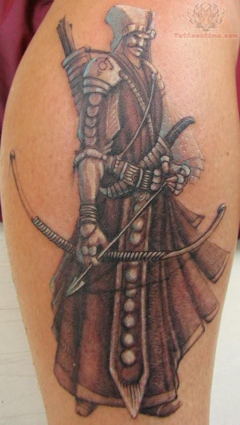 Amazing Warrior Tattoo Ideas And Designs