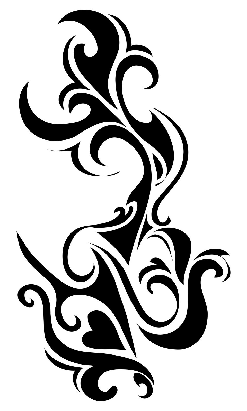 Amazing Black Tribal Tattoo Design Ideas And Designs