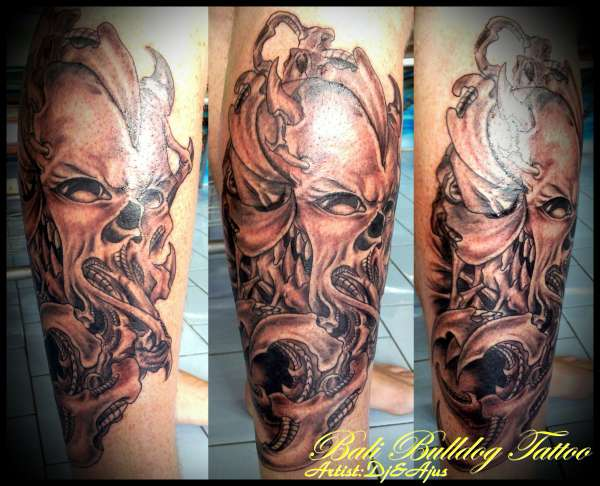 Biomechanical Tattoo Images Designs Ideas And Designs