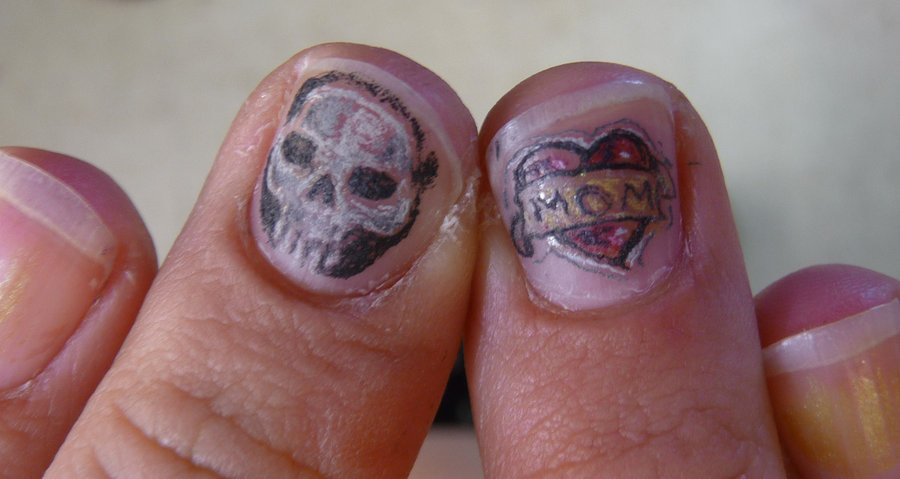 Nail Tattoo Images Designs Ideas And Designs