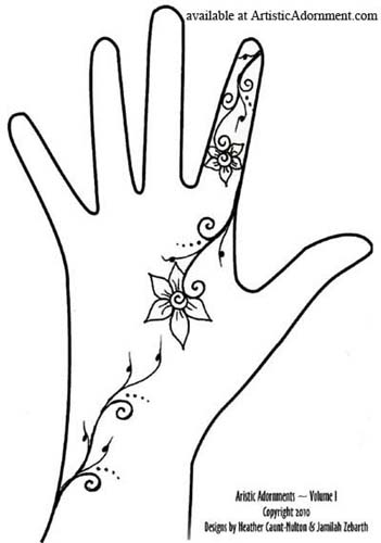 Free Patterns Henna By Heather Ideas And Designs
