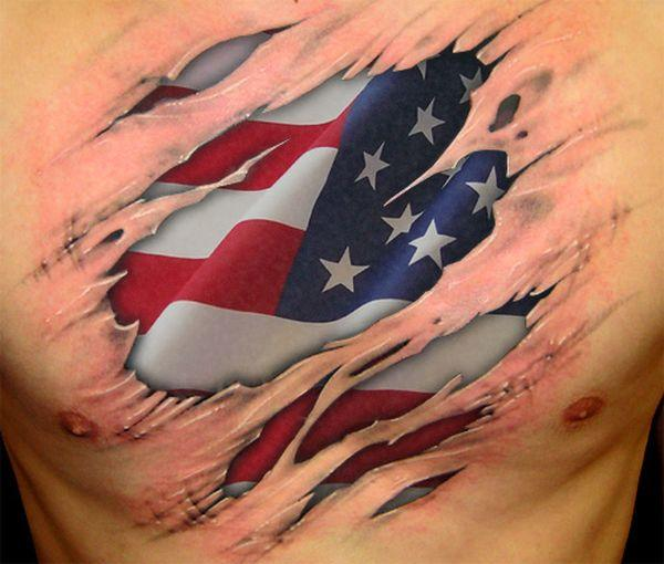 11 American Flag Tattoo Designs Ideas And Designs