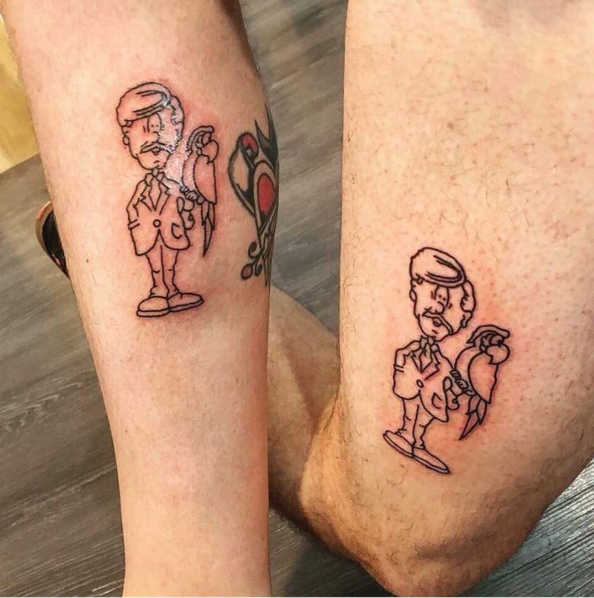 2 Brothers Got Matching Marc S Tattoos And It S The Most Ideas And Designs