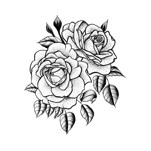 Rose Tattoo Design Clipart Best Ideas And Designs