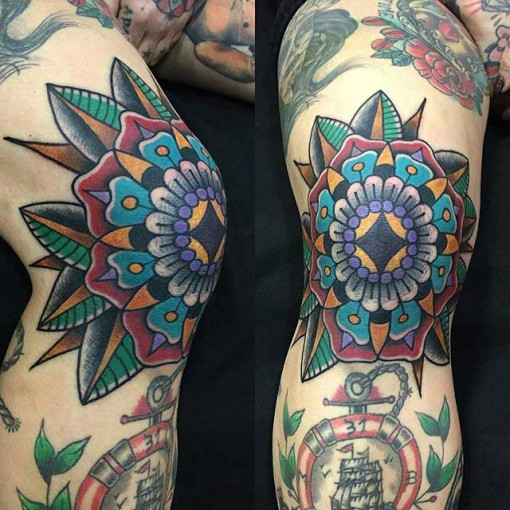 Traditional Knee Tattoo Best Tattoo Ideas Gallery Ideas And Designs