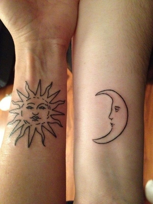 101 Matching Couple Tattoo Ideas For Passionate L*V*Rs Ideas And Designs