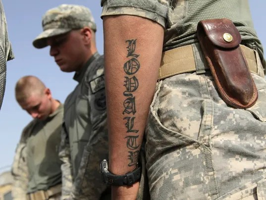 Can The Us Army Have Tatoos On Their Body Politics Ideas And Designs