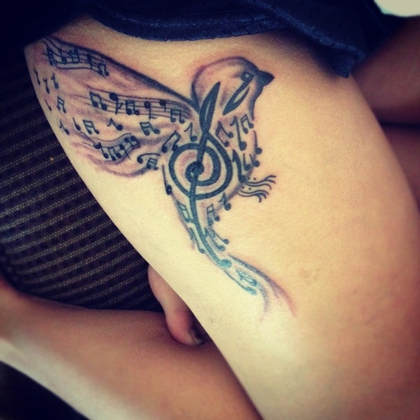 101 Music Tattoo Designs To Ignite The Love For Music Ideas And Designs