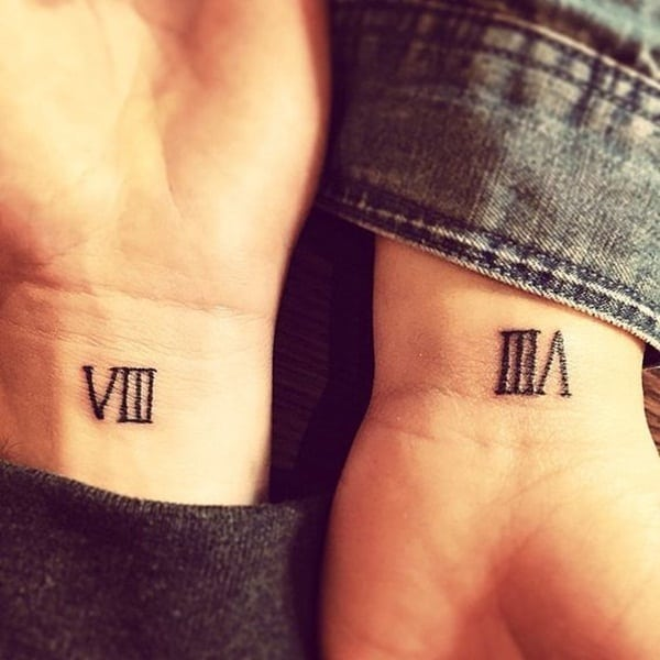 101 Cool And Classic Roman Numerals Tattoo Designs Ideas And Designs